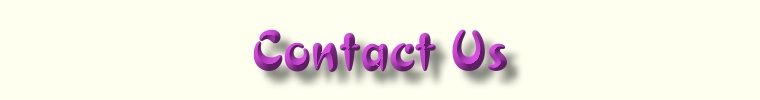 Contact Us - Web Page Title Graphic